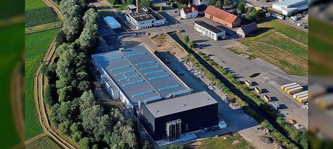 Einweihung Produktionsgebäude