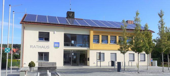 Einzug in das neu sanierte Tannheimer Rathaus